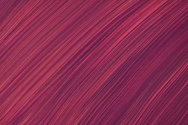 Abstrakte flüssige kunsthintergrund dunkelviolette farben. flüssiger marmor. acrylbild auf leinwand mit weinverlauf. aquarellhintergrund mit rotem gestreiftem muster. marmortapete aus stein.