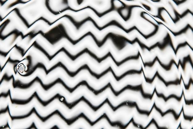 Abstrakte genieselte schwarzweiss-farben