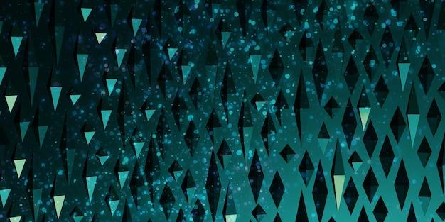 Abstrakte geometrische hintergrund 3d illustration des stacheligen dreiecks