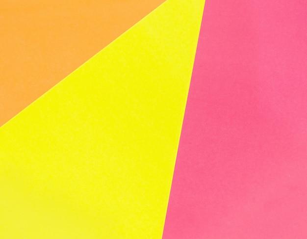 Abstrakte geometrische papieroberfläche