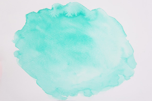Abstrakte grüne aquarell hintergrundtextur