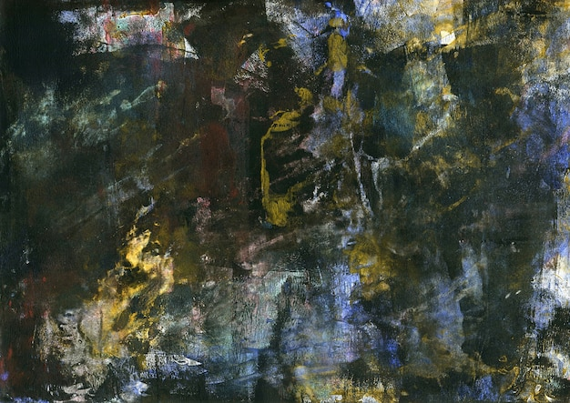 Abstrakte grunge-acryl-malerei. moderne kunst