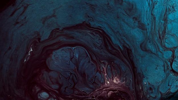 Abstrakte grunge blaue aquarell gemusterte hintergrundillustration