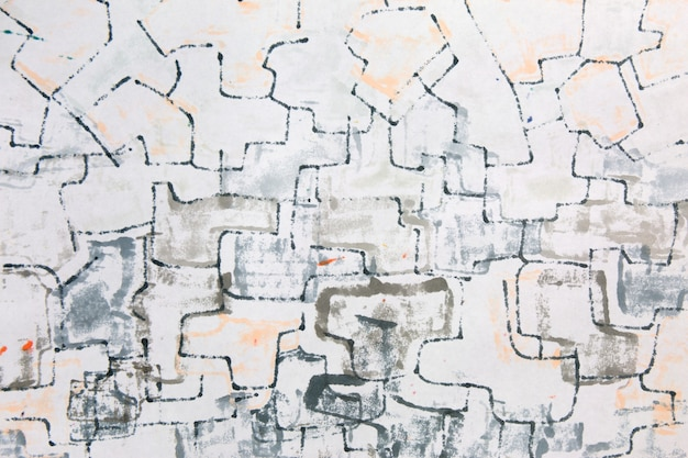 Abstrakte grunge-marker-papierstruktur