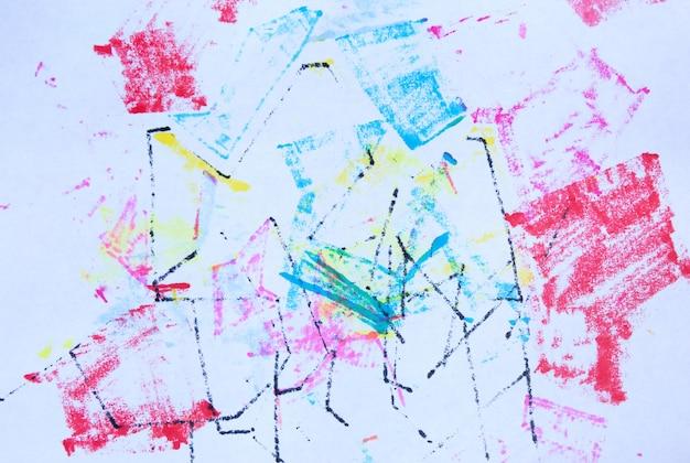 Abstrakte grunge-marker-textur stockillustration