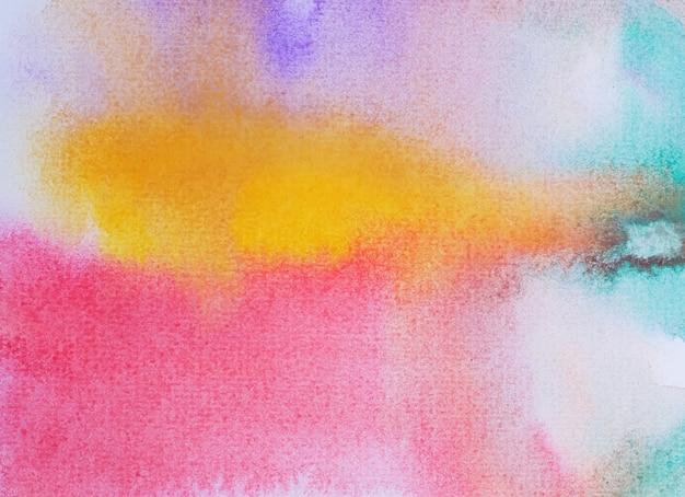 Abstrakte handgemalte abstufung des aquarells für hintergrund