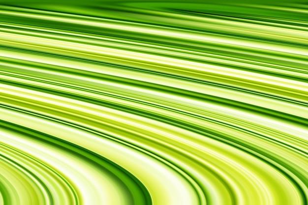 Abstrakte hellgrüne und gelbe schräge linienillustration. verwischen sie die dekorative grün-gelbe textur. Premium Fotos
