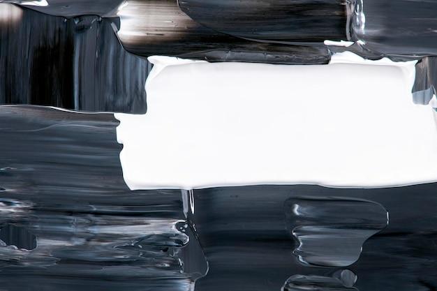 Abstrakte hintergrundbild, schwarze acrylfarbe textur