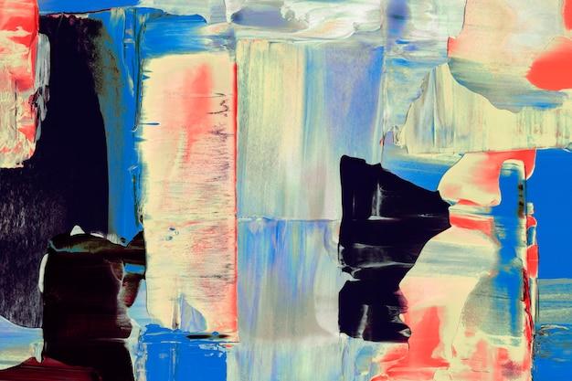 Abstrakte hintergrundtapete, mischfarbe acrylfarbe strukturiert