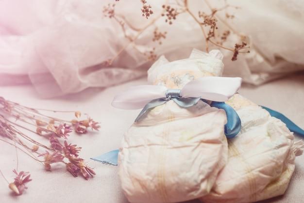 Abstrakte komposition für neugeborene