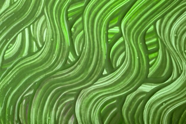 Abstrakte kunst hintergrund grüne farben. aquarellmalerei mit olivgrünen geschweiften strichen. acrylgrafik mit gewelltem pinselstrich.