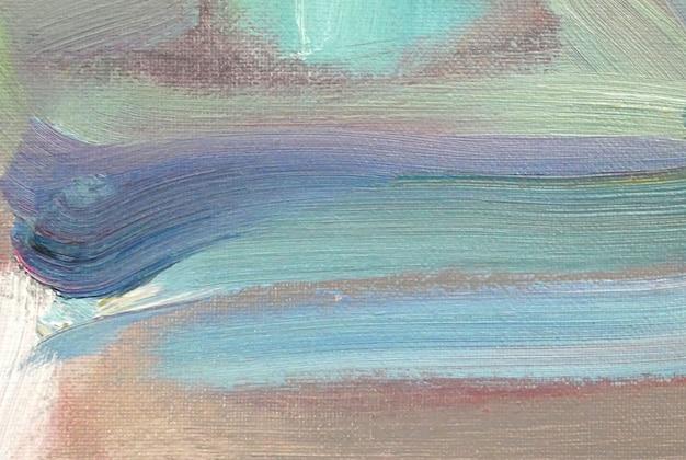 Abstrakte kunst hintergrund ölgemälde auf leinwand farbtextur fragment von kunstwerken pinselstriche von farbe moderne kunstwerke