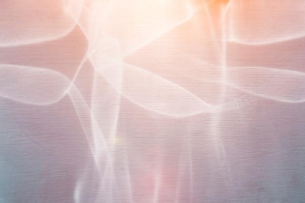 Abstrakte lichtreflexion auf der wand