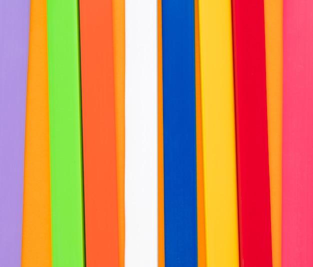 Abstrakte linie kunststoff voller farbe textur hintergrund