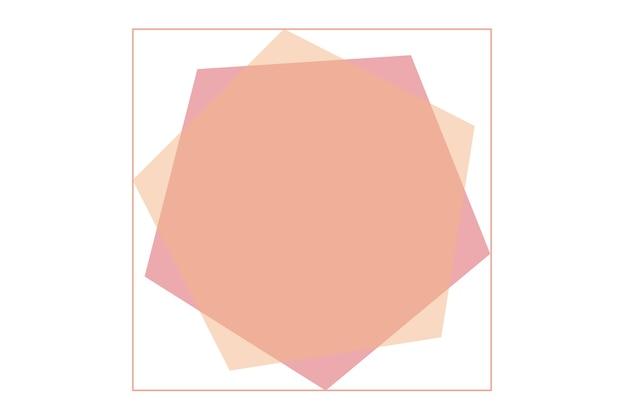 Abstrakte logo-hintergrundillustration mit pastellfarbenhintergrund
