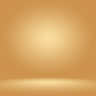 Abstrakte luxuriöse dunkelbraune und braune steigung mit grenzbraunvignette, studiohintergrund - wohlen gebrauch als hintergrundhintergrund, brett, studiohintergrund.