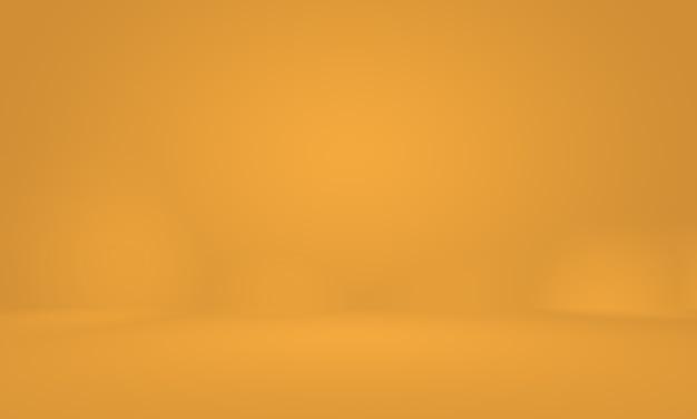 Abstrakte luxus-goldgelbe farbverlaufsstudiowand, gut als hintergrund, layout, banner und produktpräsentation verwenden.