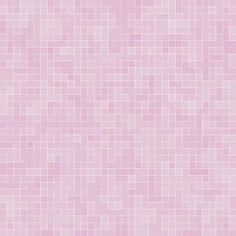 Abstrakte luxus süße pastellrosa ton wand bodenfliese glas nahtlose muster mosaik hintergrundtextur für möbelmaterial.