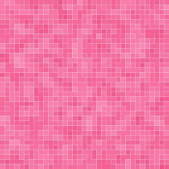 Abstrakte luxus sweet pastel pink tone wand bodenfliesen glas nahtloses muster mosaik