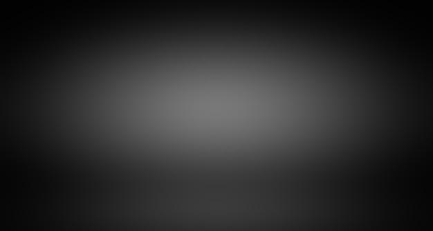 Abstrakte luxusunschärfe dunkelgrauer und schwarzer farbverlauf