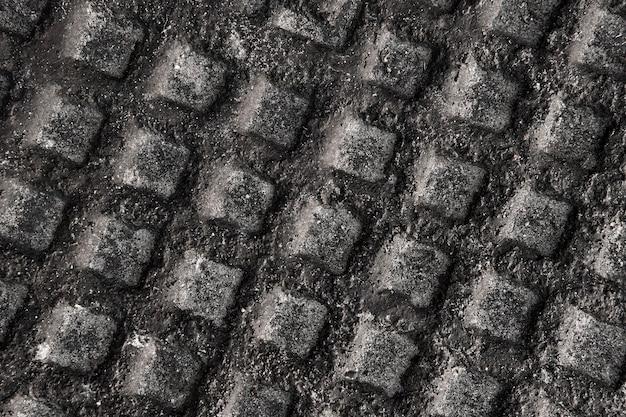 Abstrakte metallische oberflächennahaufnahme