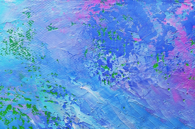 Abstrakte ölfarbenbeschaffenheit auf leinwand, hintergrund