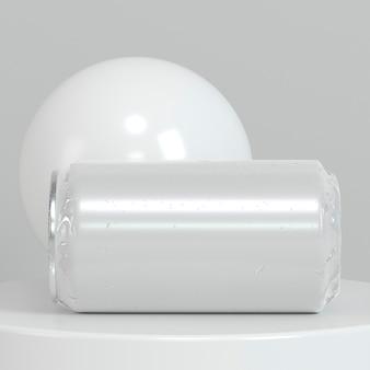Abstrakte pop-top-soda-zinn-präsentation