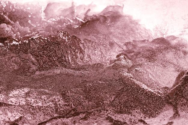 Abstrakte rotgold holprig strukturiert
