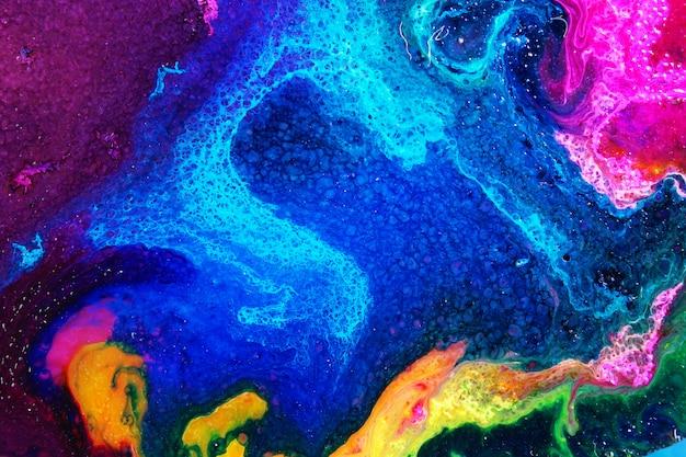 Abstrakte textur der alkoholtinte
