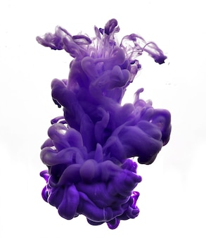 Abstrakte tinte figur