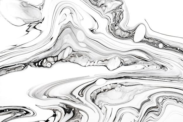 Abstrakte tintenflüssigkeit marmorierte textur. luxuriöse tapete mit granit- und marmormineralmuster.