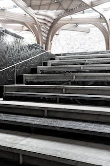 Abstrakte treppe schritt
