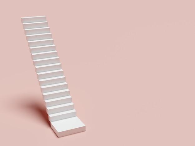 Abstrakte treppe. treppen mit stufen, geschäftskonzept