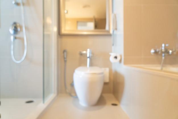 Abstrakte unschärfe bad oder wc
