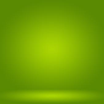 Abstrakte unschärfe leer grüner farbverlauf studio gut als hintergrund, website-vorlage, rahmen, geschäftsbericht verwenden