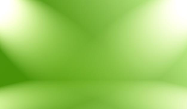 Abstrakte unschärfe leer grüner farbverlauf