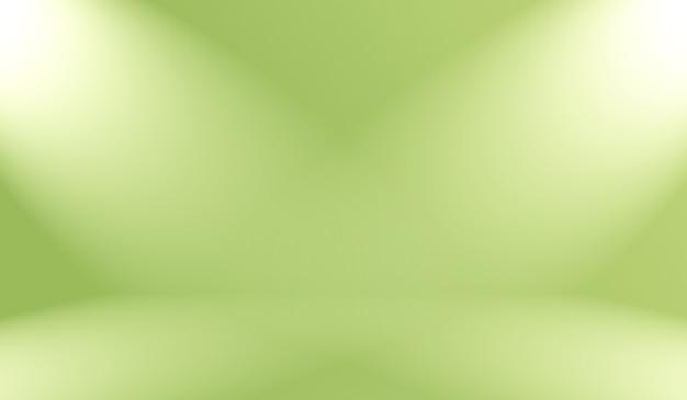 Abstrakte unschärfe leer grüner farbverlauf Premium Fotos