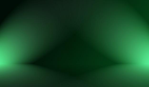 Abstrakte unschärfe leer grünes farbverlauf studio gut als hintergrund, website-vorlage, rahmen, geschäftsbericht verwenden