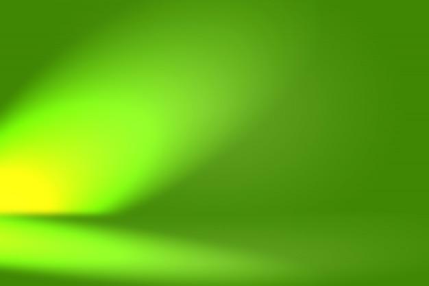 Abstrakte unschärfe leere grüne steigung