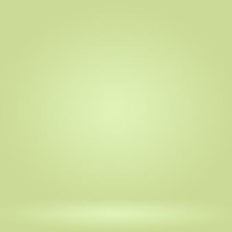 Abstrakte unschärfe leeres grünes steigungsstudio gut verwenden als hintergrund