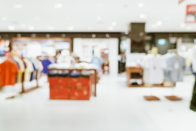 Abstrakte unschärfe luxus-einkaufszentrum und einzelhandelsgeschäft für hintergrund