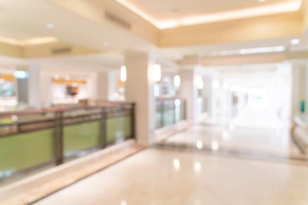 Abstrakte unschärfe luxushotellobby und lounge für den hintergrund