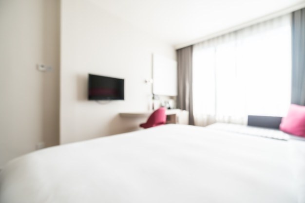 Abstrakte unschärfe schlafzimmer