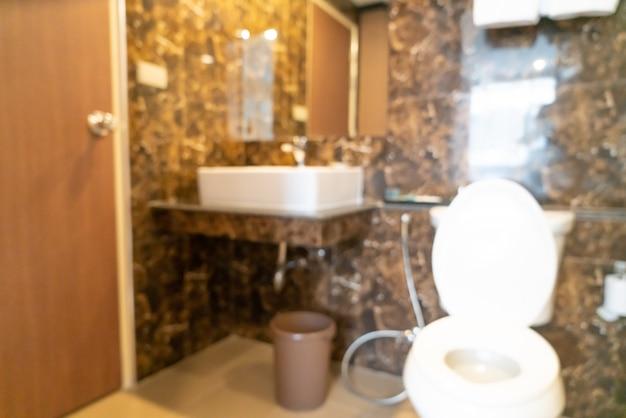 Abstrakte unschärfe toilette und toilette für den hintergrund