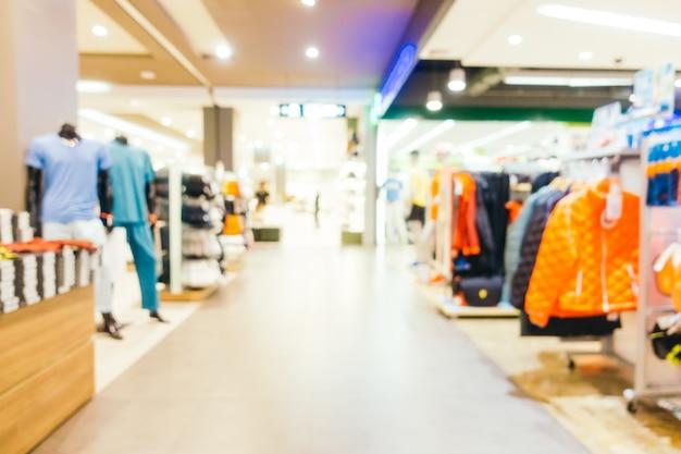 Abstrakte unschärfe und defokussierte einkaufszentrum zentrum des kaufhauses