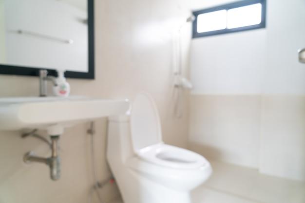 Abstrakte unschärfe und defokussierte toilette oder toilette