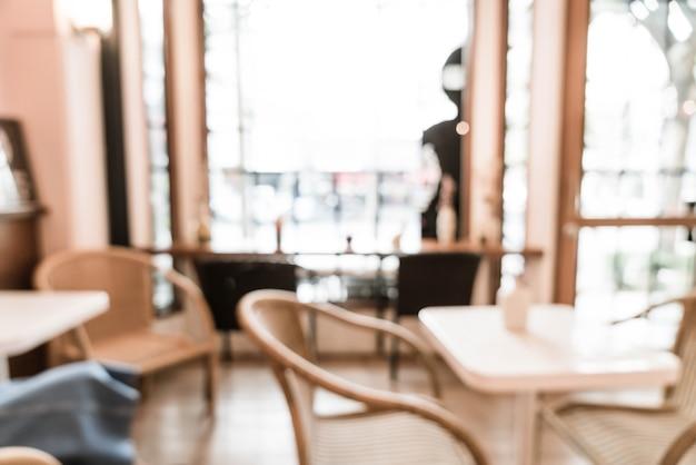 Abstrakte unschärfe und im café defokussiert