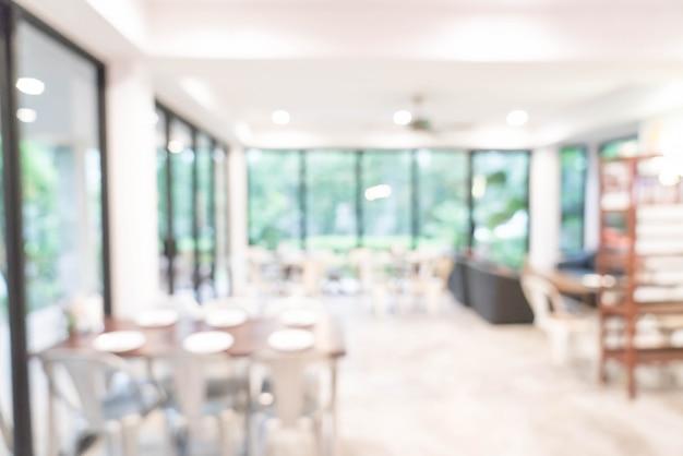 Abstrakte unschärfe und im restaurant defokussiert