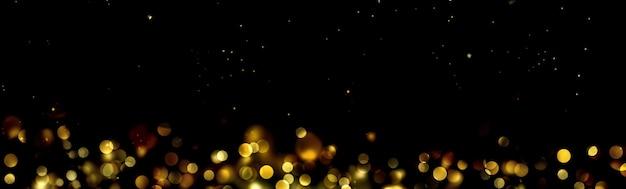 Abstrakte unschärfeleuchten in der nacht, fahnenhintergrund