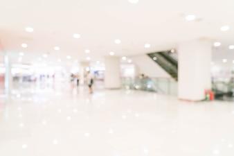 Abstrakte Unschärfe im Luxuseinkaufszentrum und Einzelhandelsgeschäft